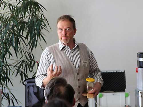 Baubiologische Fortbildung, Referent Stephan Streil