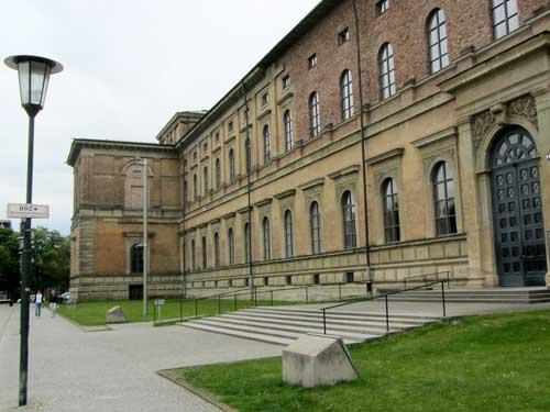 Die Alte Pinakothek In München - Vor Der Sanierung