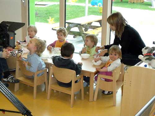 Kindergarten, Gesundheitsvorsorge, Schadstoffe, Elektrosmog
