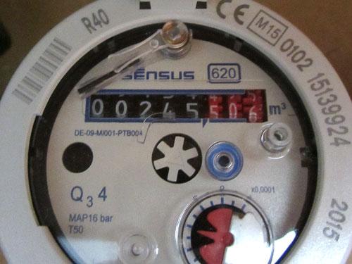 Funkwasserzähler