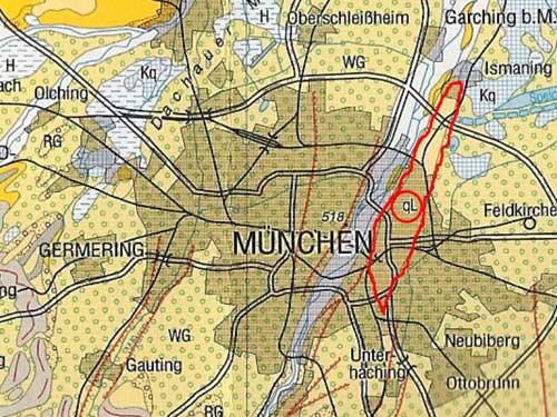 Lehmzunge, Isarhochufer, Radon, Bodengas